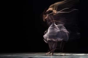Danse moderne illustrant la passion