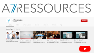 Chaîne youtube A7Ressources