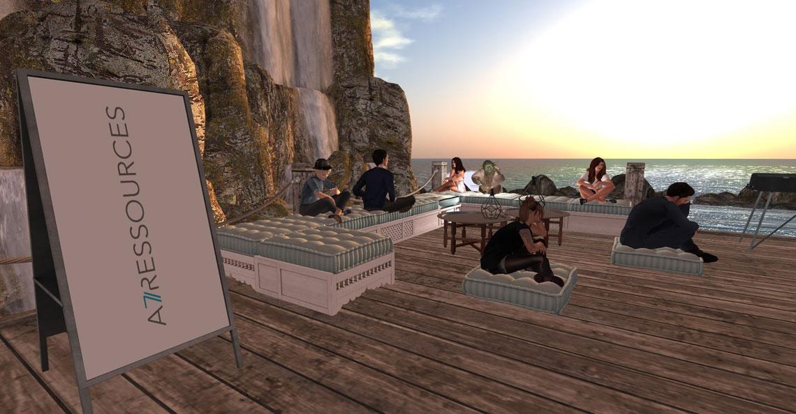 Expérience virtuelle de groupe