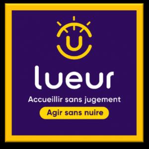 Logo Lueur Accueillir sans jugement, agir sans nuire