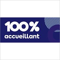 Logo 100% accueillant de l'ITHQ