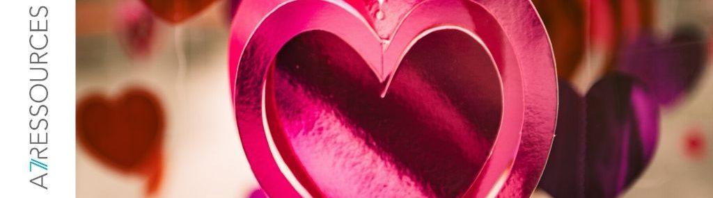 Un coeur pour la Saint-Valentin